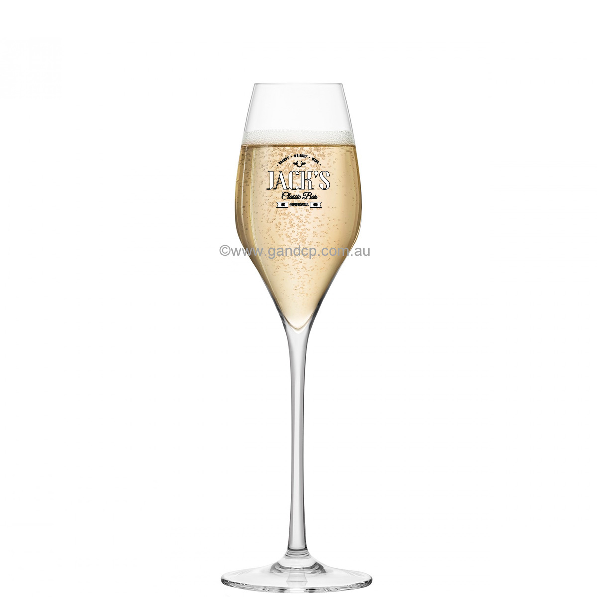 Champagne Glass Printing